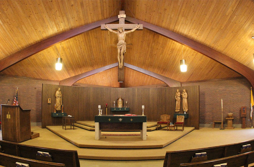 <p>Join us for Mass at Our Lady of Guadalupe Parish!</p>